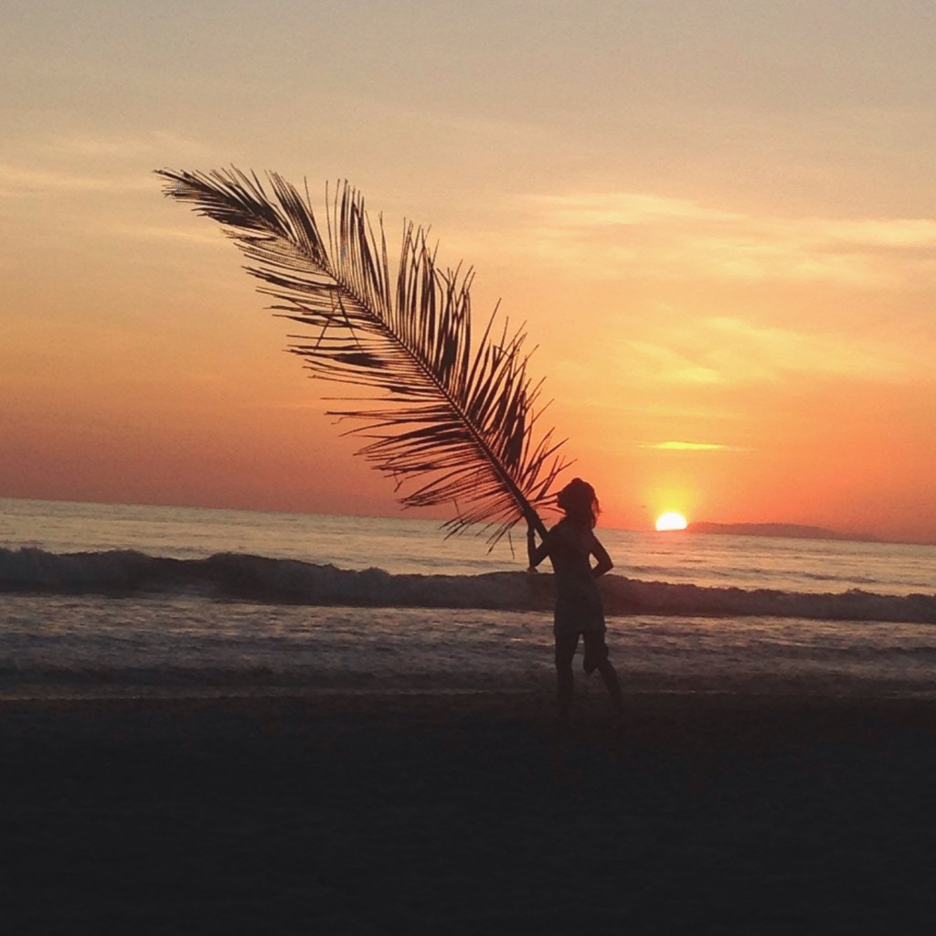 Sunset At The Beach in Costa Rica –  a photo out of the best fashion blogs
