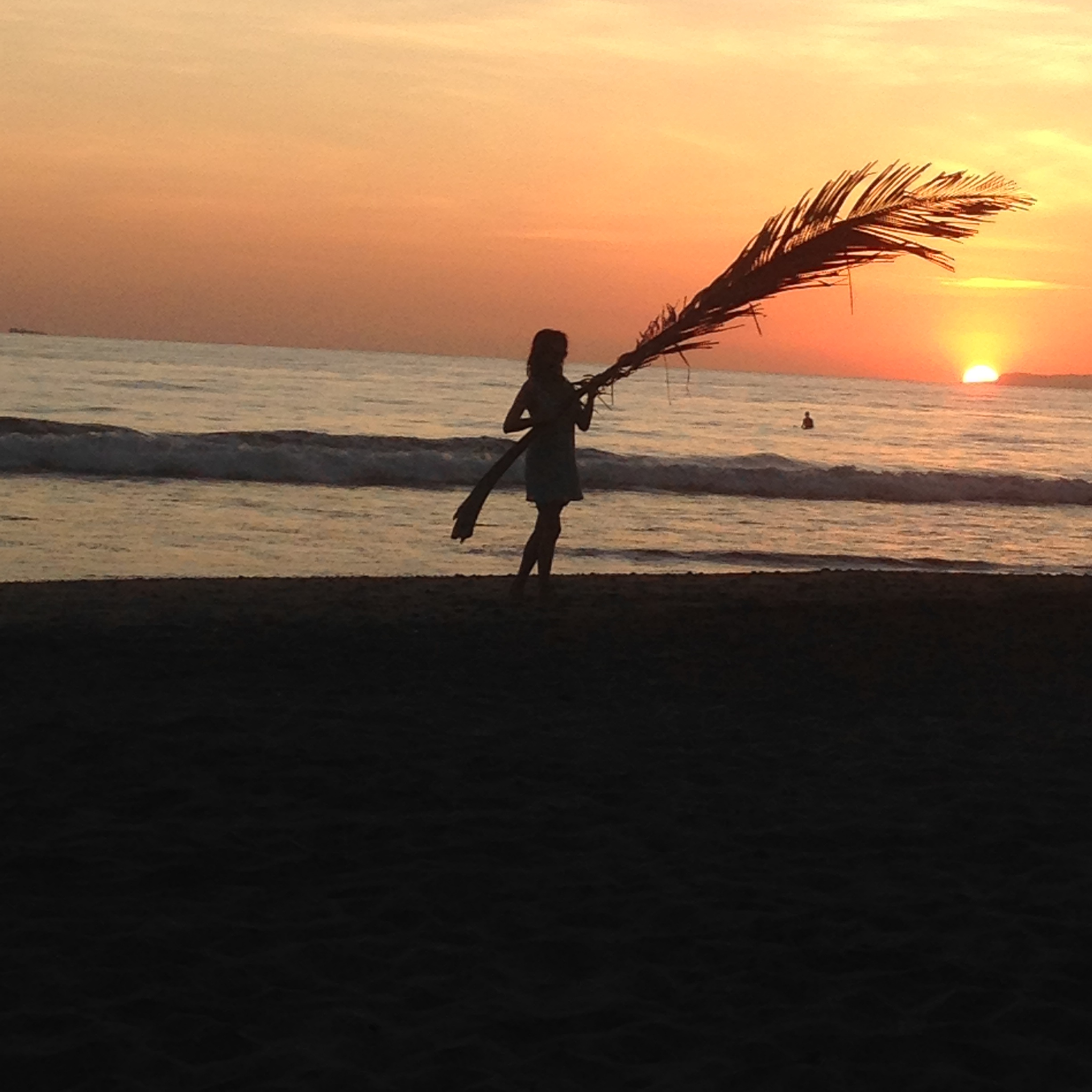 Sunset At The Beach in Costa Rica -  a photo out of the best fashion blogs