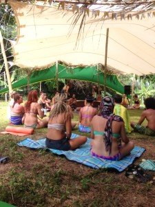 YOGA at Envision Festival in Costa Rica