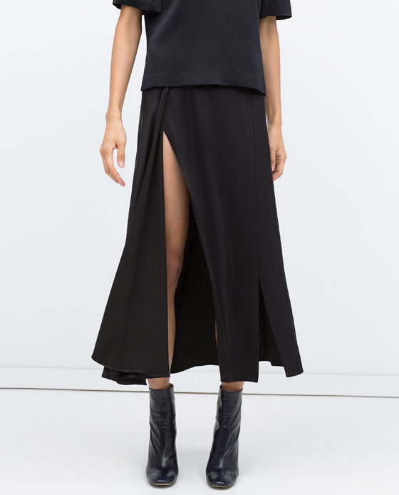 Long skirts zara fall 2015
