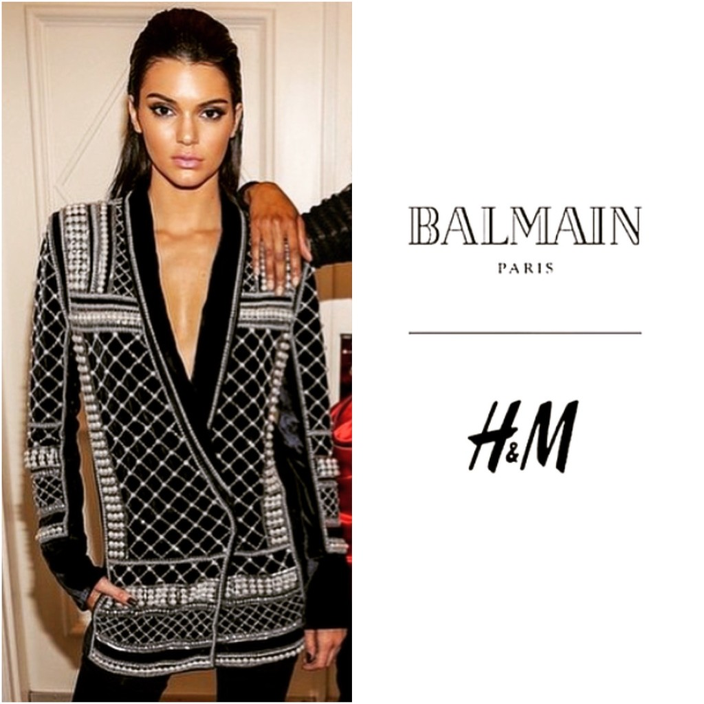 H&M in Mexico -top fashion blogs will soon be covered in balmain