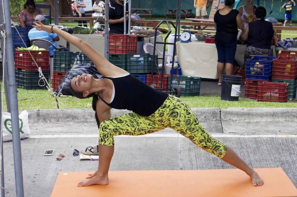 Clase de hata yoga para principiantes en Costa Rica 14