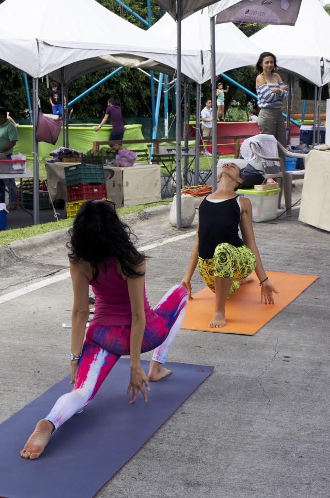 Clase de hata yoga para principiantes en Costa Rica 2