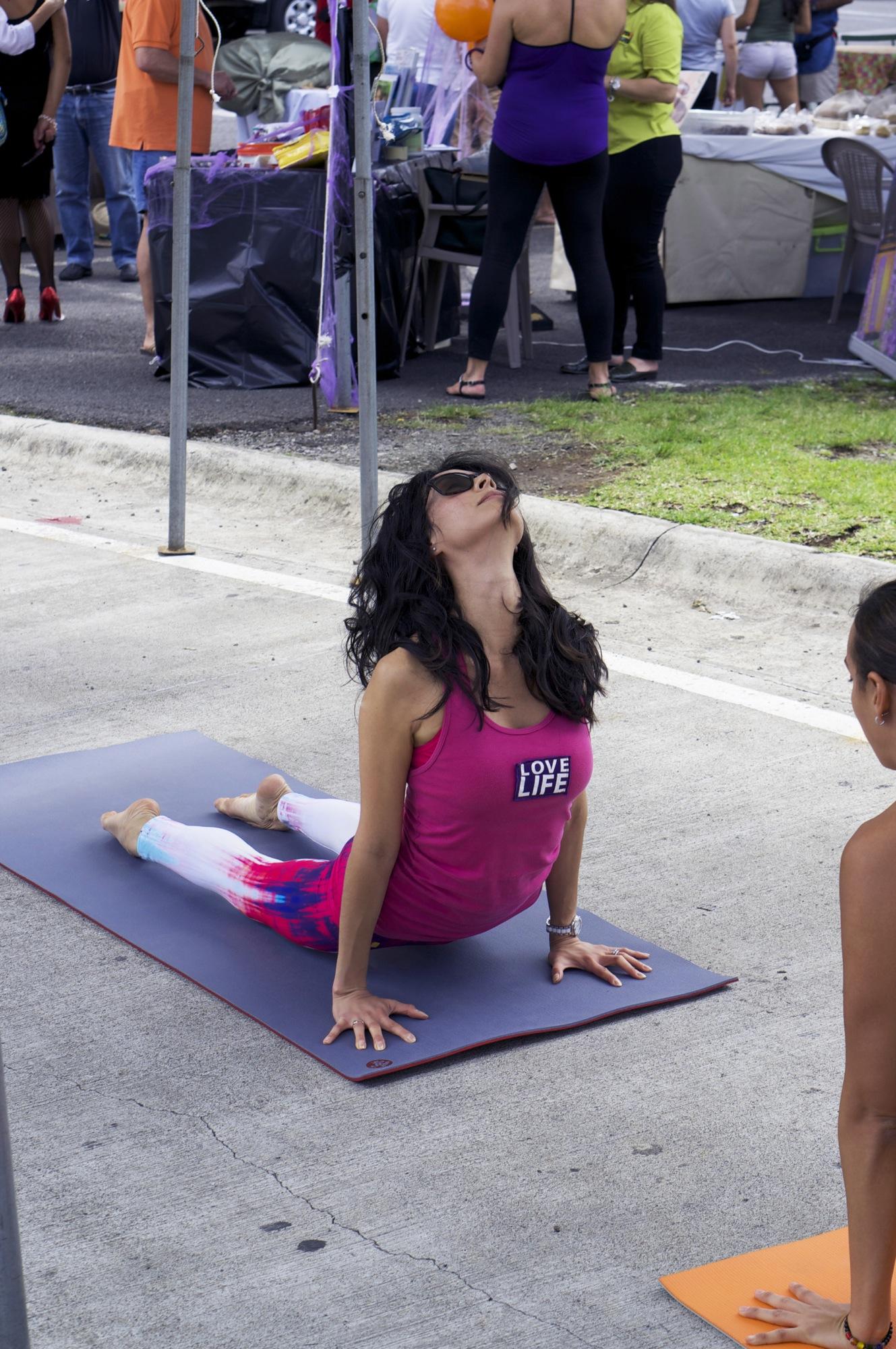 Clase de hata yoga para principiantes en Costa Rica 4