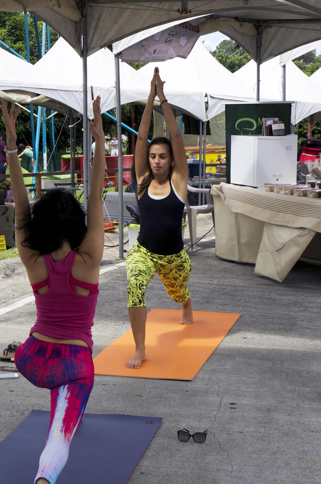 Clase de hata yoga para principiantes en Costa Rica 6