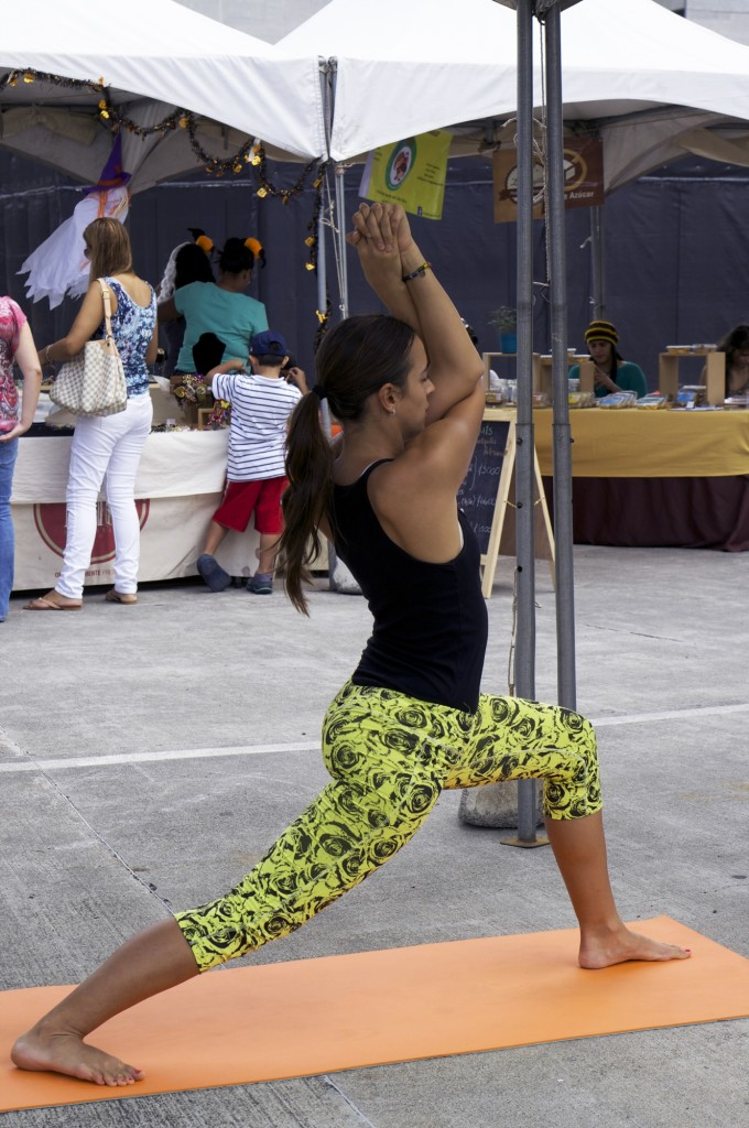 Clase de hata yoga para principiantes en Costa Rica 9