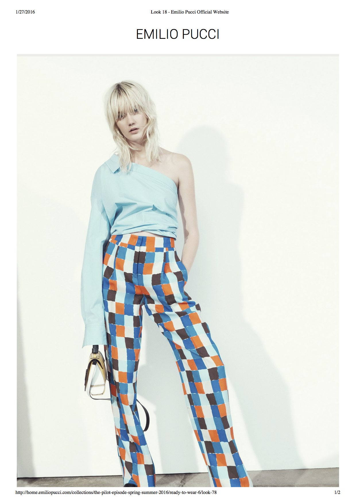 Look 18 - Emilio Pucci Official Website