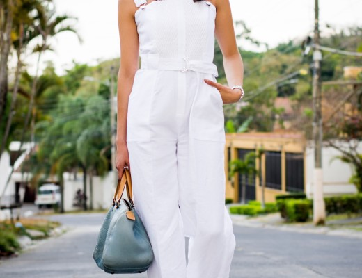 white jumpsuit spring summer