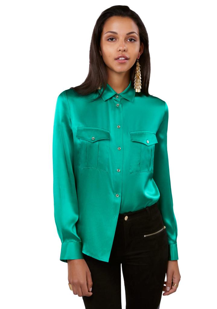 IVYREVEL_Shirt emerald
