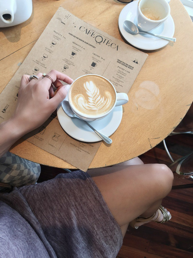The best Cappuccino in Costa Rica -Flight of Spice Blog by di carolia
