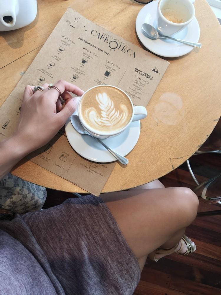 The best Cappuccino in Costa Rica -Flight of Spice Blog by di carolia