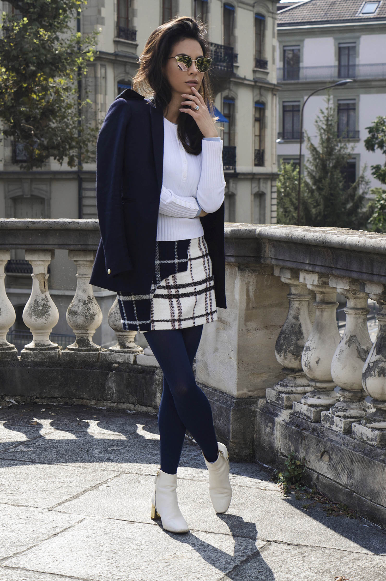 Fall outfit Derek Lam Intermix Blogger
