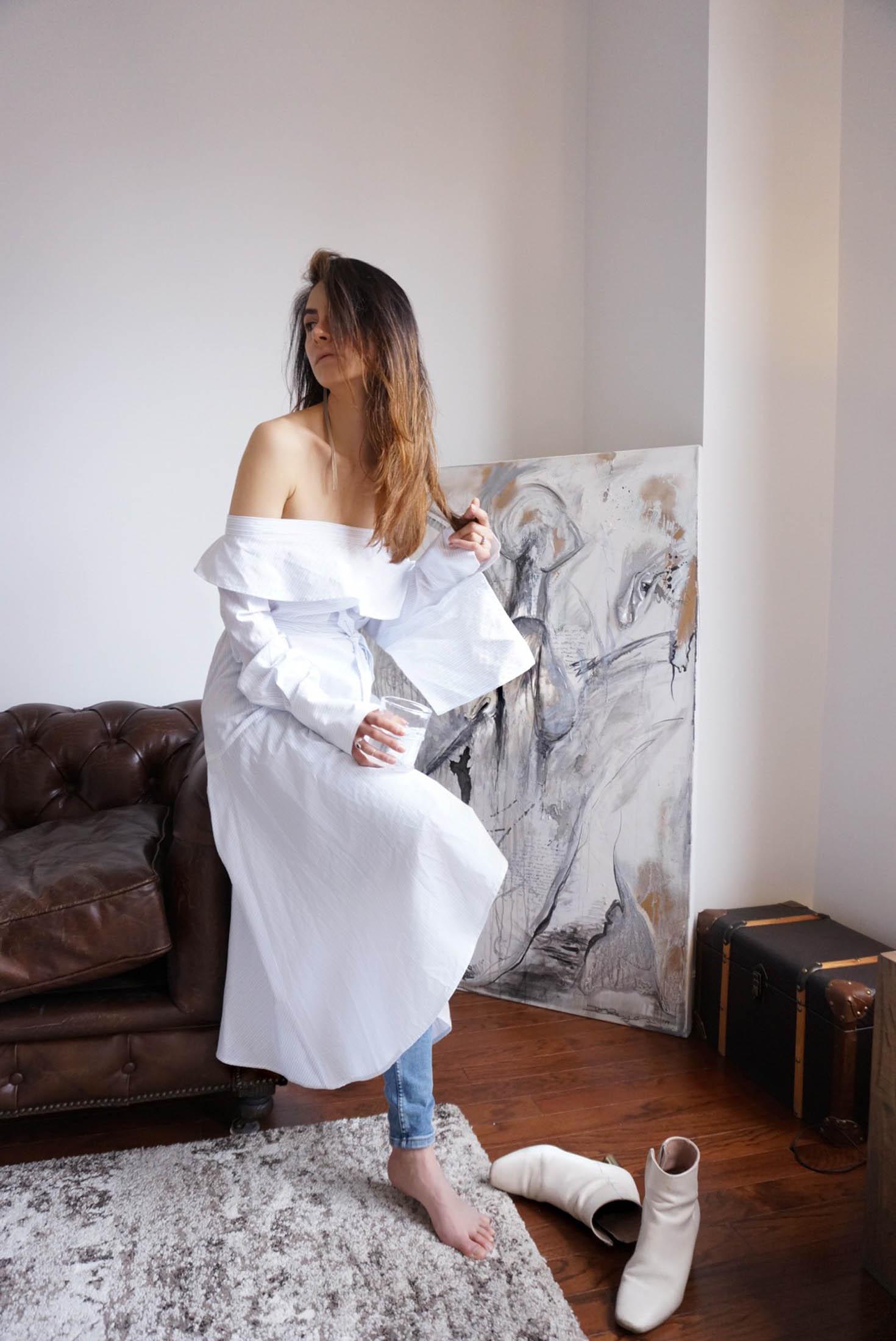 Spring Shirt Dress-6