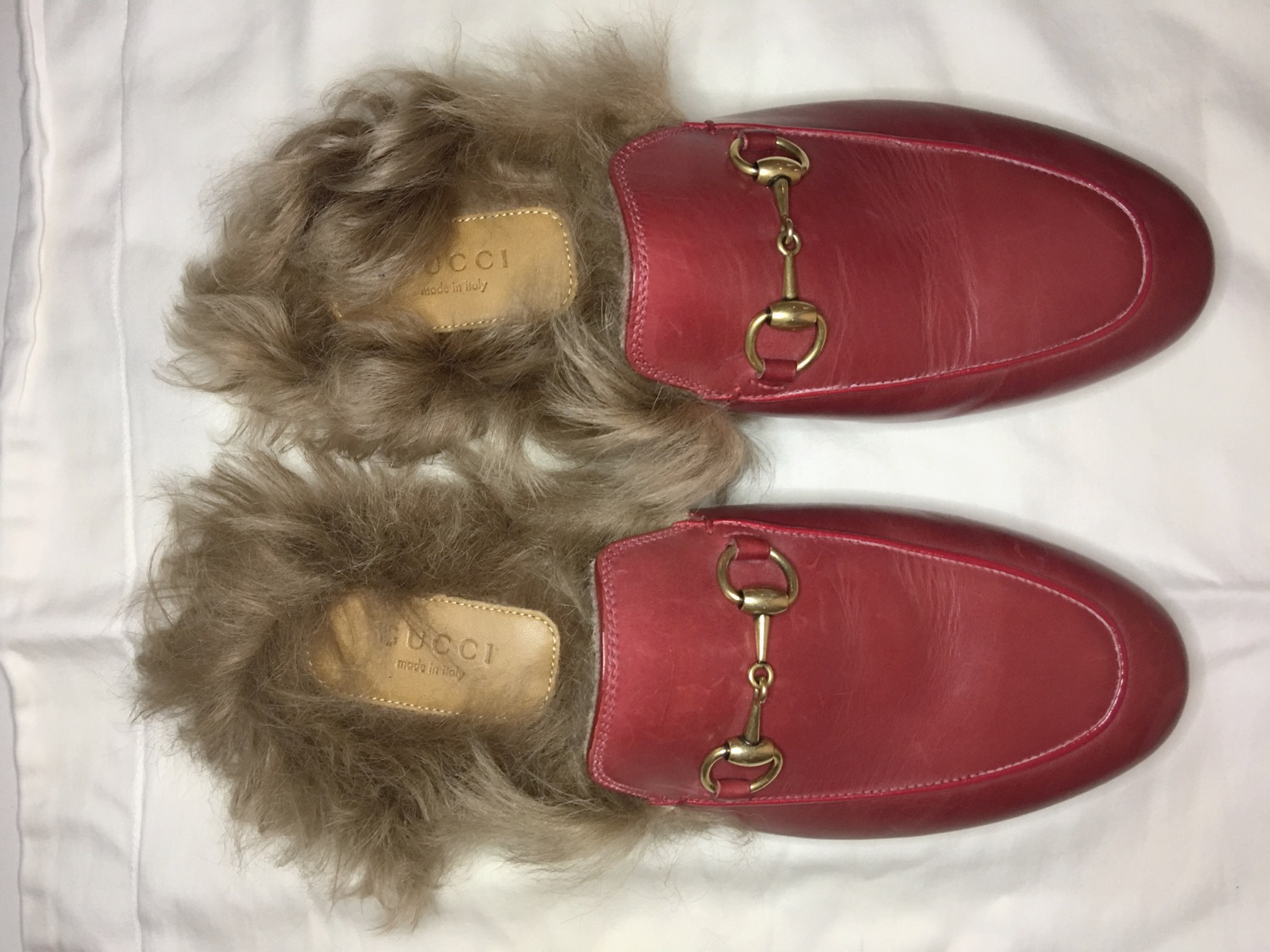 Red Princetown Gucci New On Sale-3
