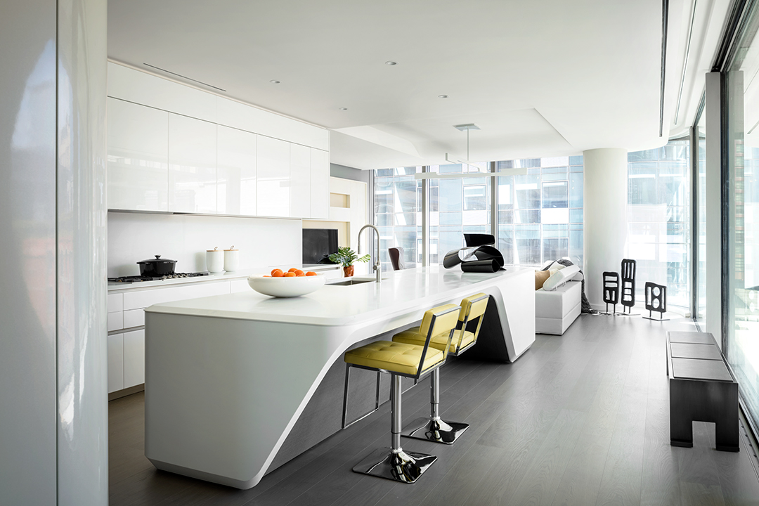 ZAHA HADID´S 520 West 28th on Flight of Spice Design Your Life Di CArolina Blogger Design