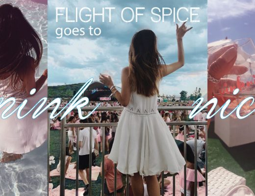 Flight of Spice in Pink Nic Summer rosé festival