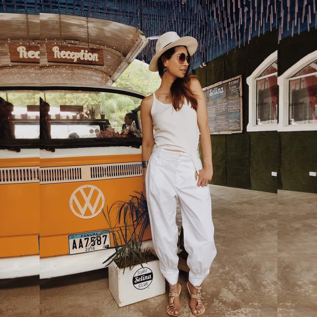 the summer little white dress