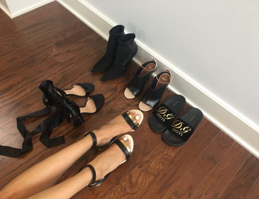 BLACK SHOE HAUL