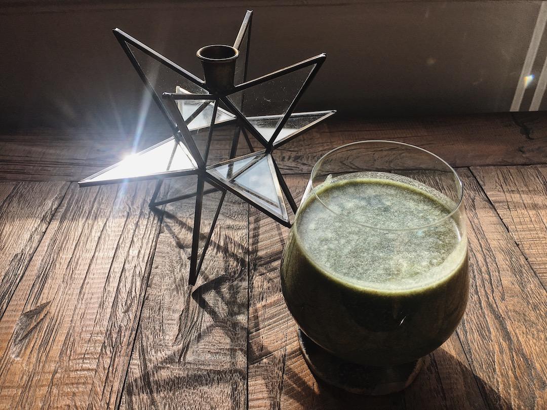 Batido Verde mañanero