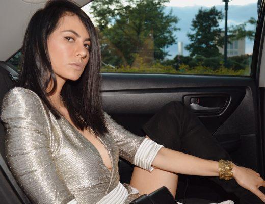 how to wear the gold trend - golden girl www.flightofspice.com