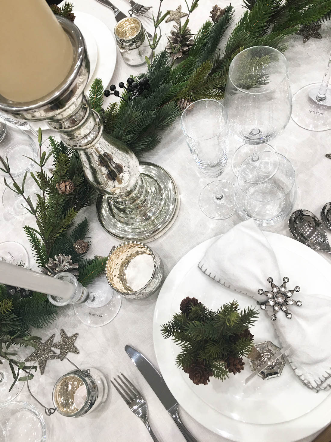 5 Tips for the perfect Christmas tablescape