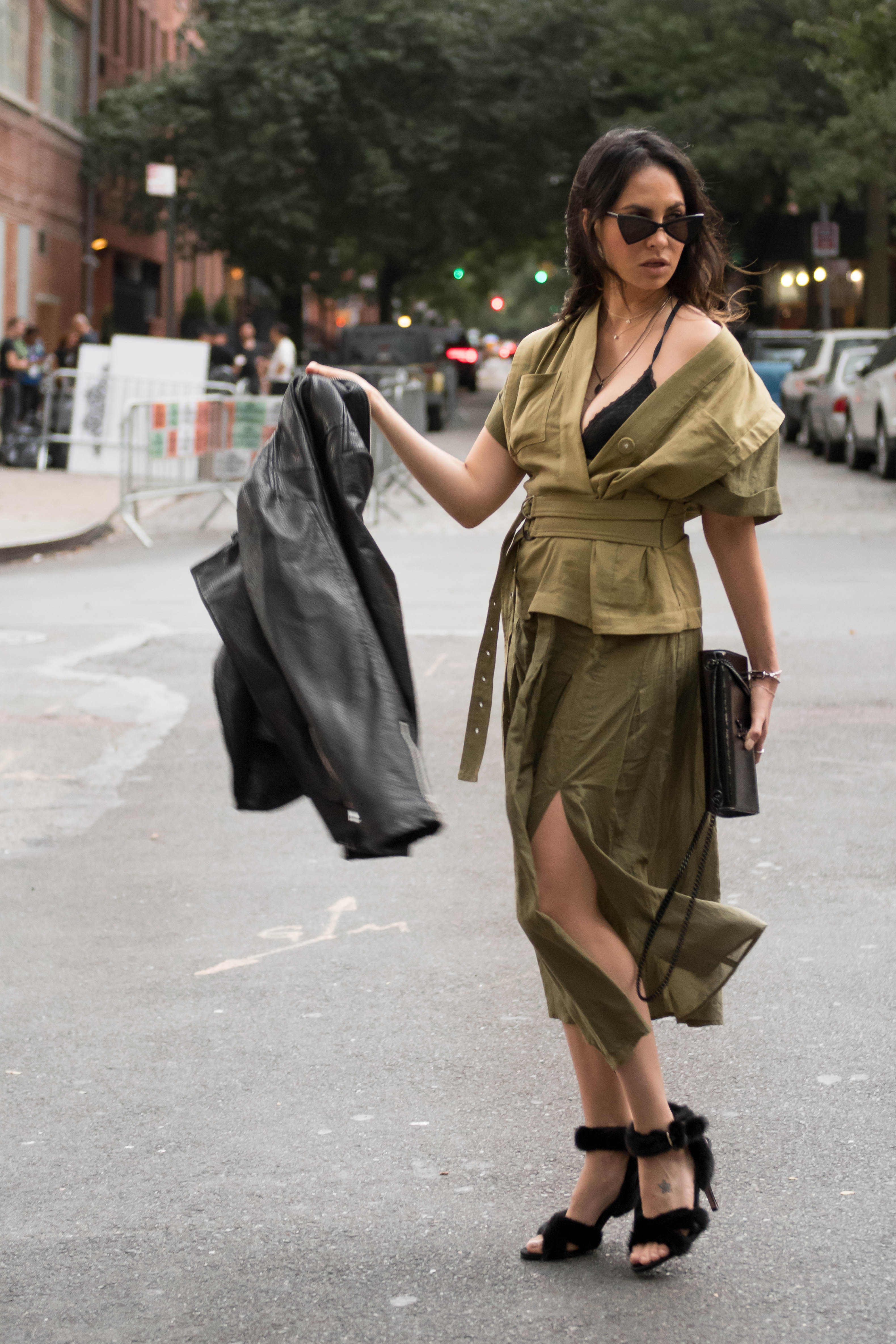 NYFW SS19 Day 1 OUtfit of the day blogger -01